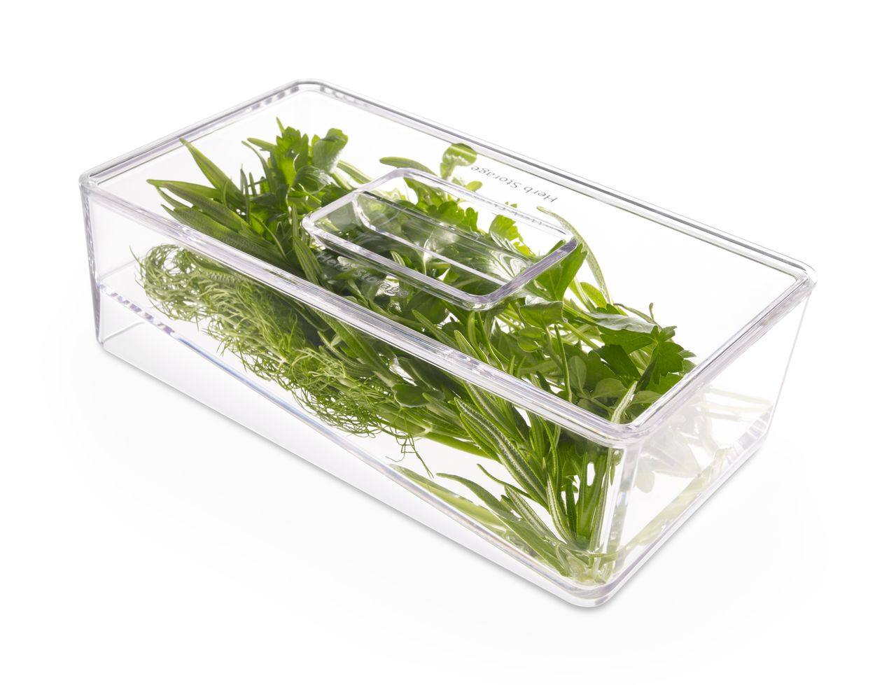 Herbs in drawer