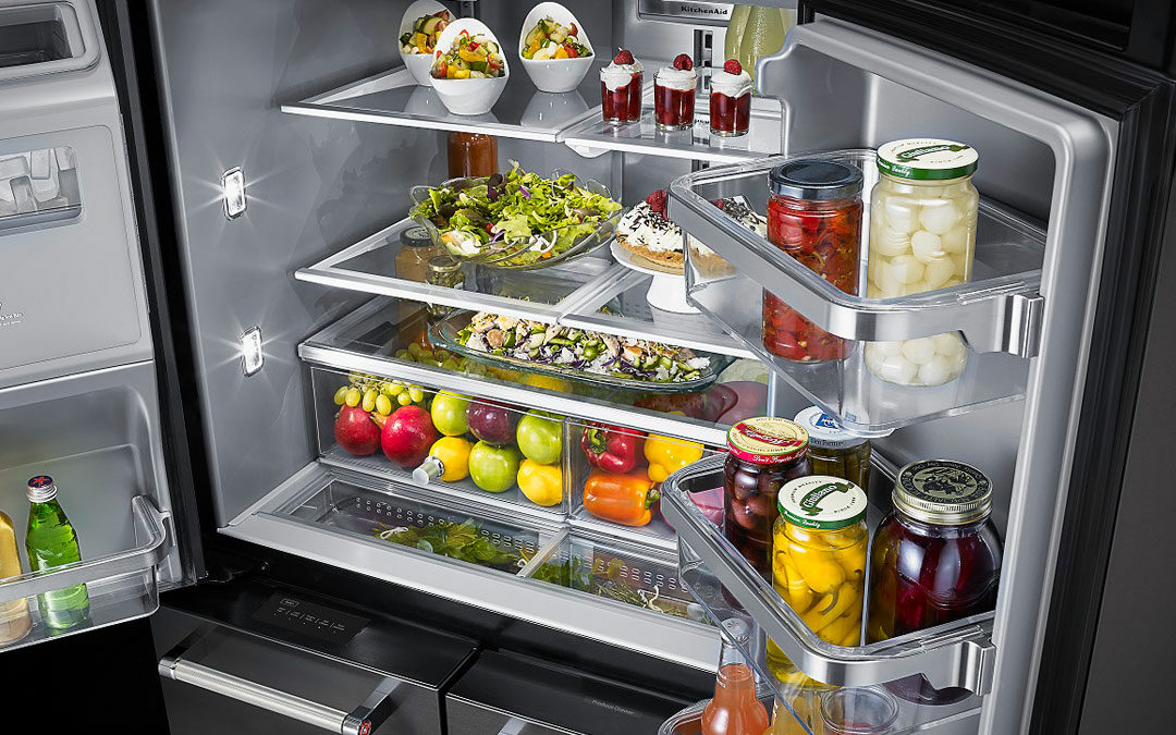 KitchenAid Refrigerator interior